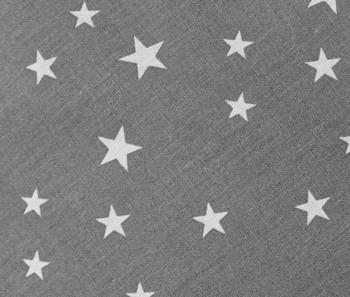Bezug Reisestillkissen Sterne grau
